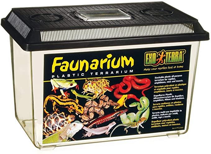 Exo Terra PT2265 - Terrario de Plástico Faunarium Grande