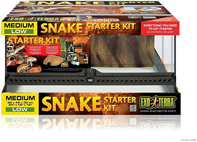 kit inicio terrario serpiente