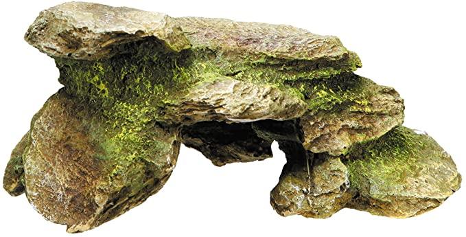 piedra decorativa terrario
